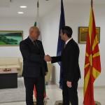 Билатерална средба на министерот Нуредини и неговиот бугарски колега Димитров