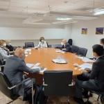 Состанок со JICA за собирање на податоци за управување со води во областа околу Ох