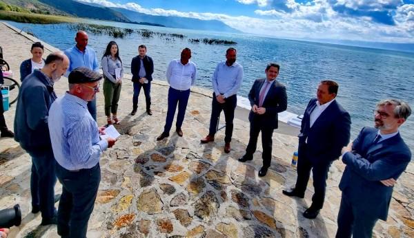 Нуредини Заштитата на Охридското Езеро е можна само со заедничко и координирано д