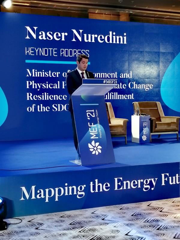 НУРЕДИНИ Имаме амбициозни национални цели за намалување на влијанието на климатски