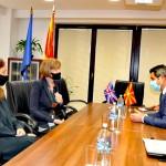 Нуредини-Мортон Обединетото Кралство ја поддржува Северна Македонија во остварува